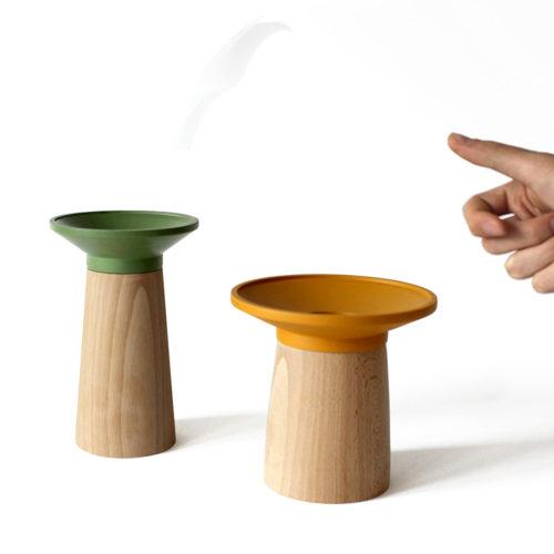 Tirelires jeu en bois tourné