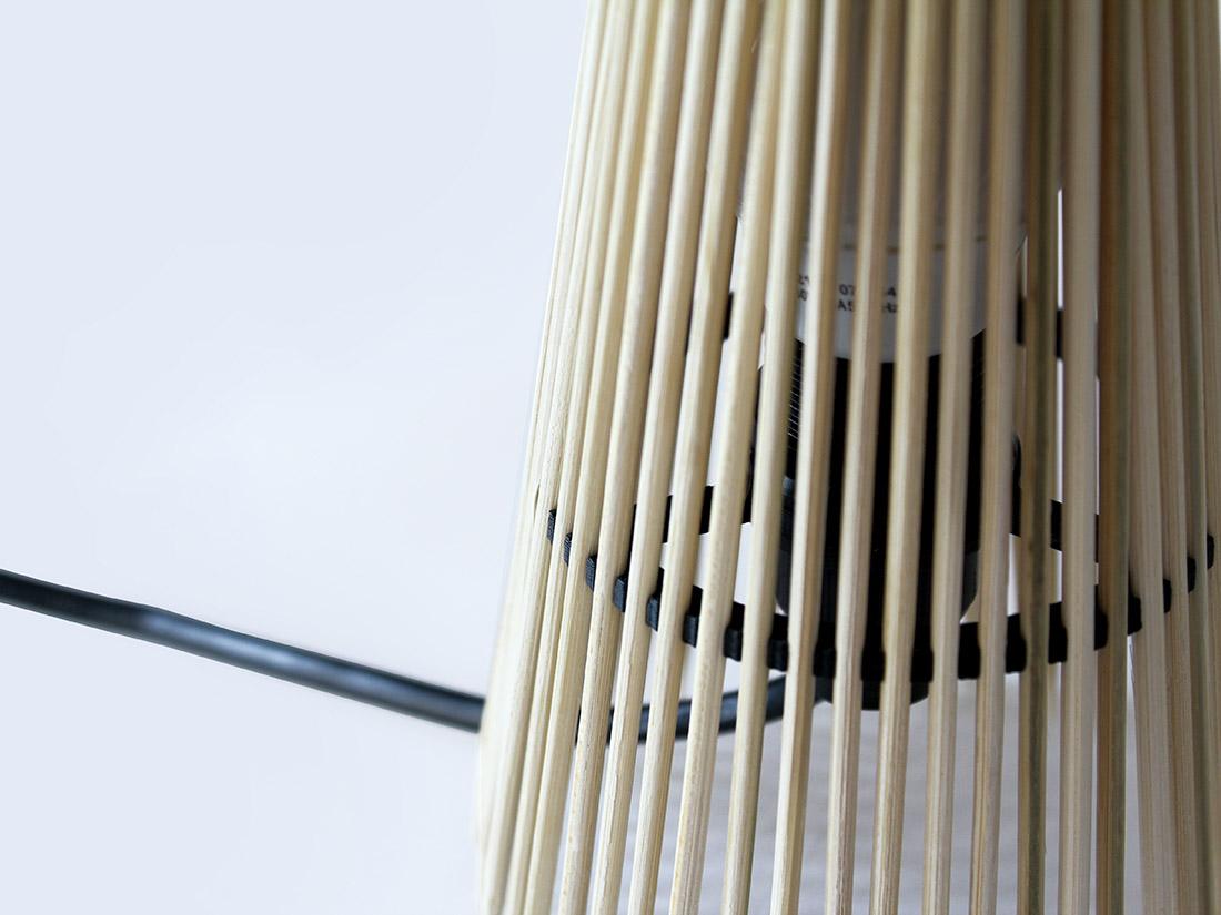 Lampe DIY impression 3D et bois