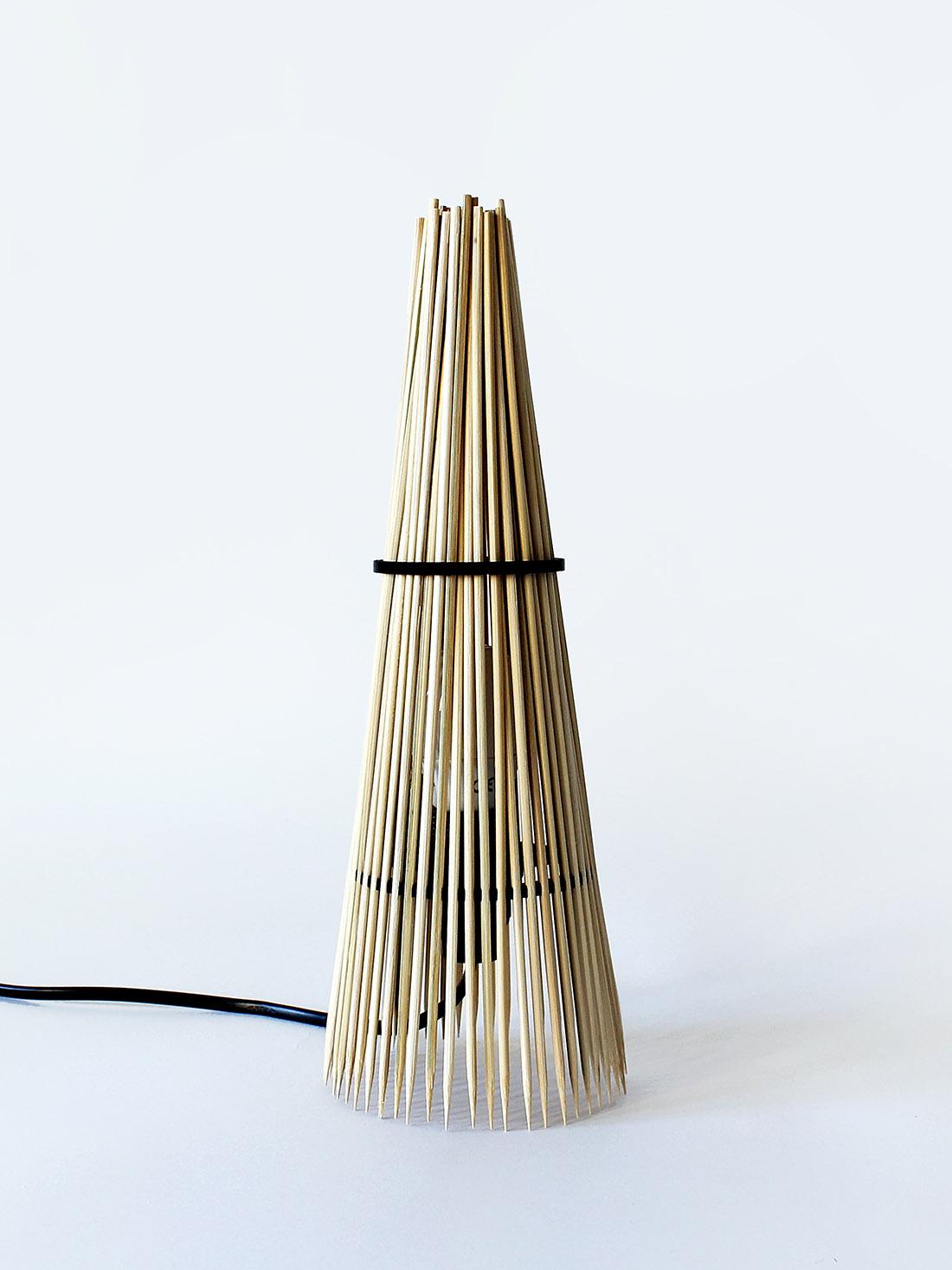 Lampe DIY do it yourself en bois