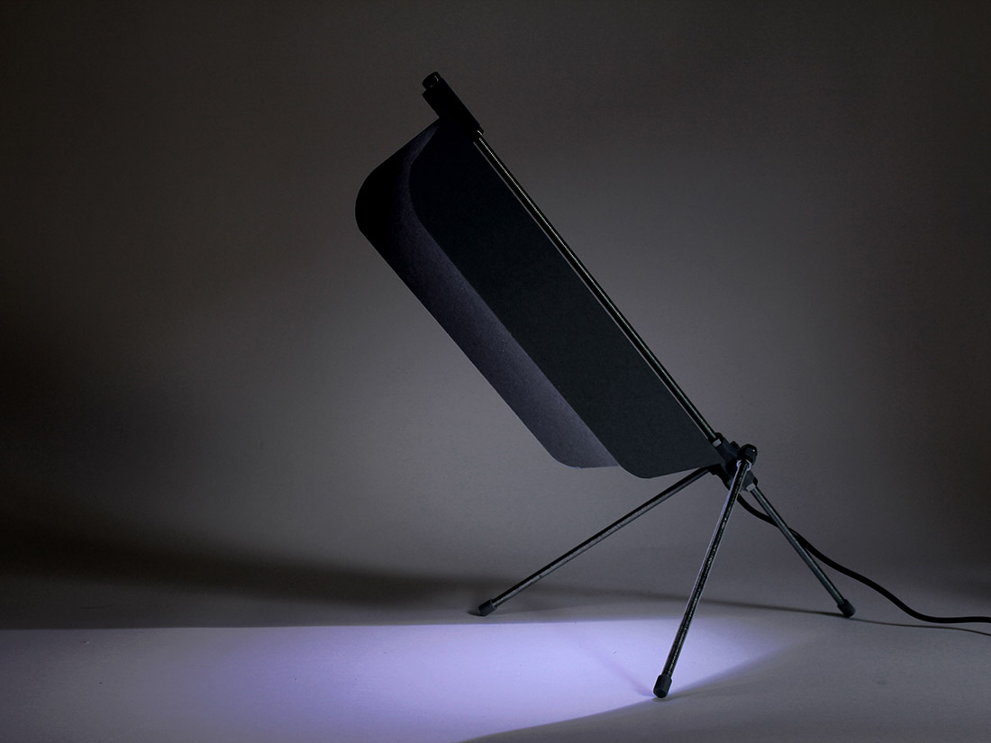 Lampe de bureau à faire soi même 3D print design