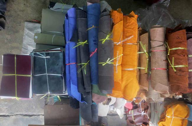 marché du cuir à bangkok