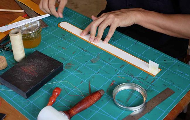 maquette du piétement de la table