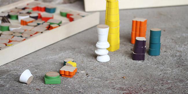 puzzle en bois réemploi, réutilisation, récup