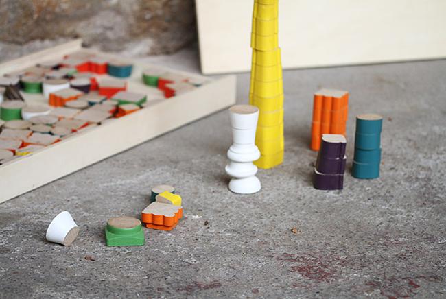 Puzzle 3D pied de chaise design