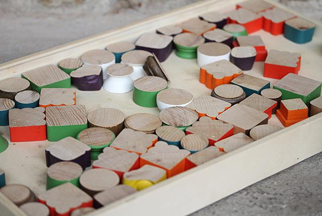 Récup bois création de puzzle