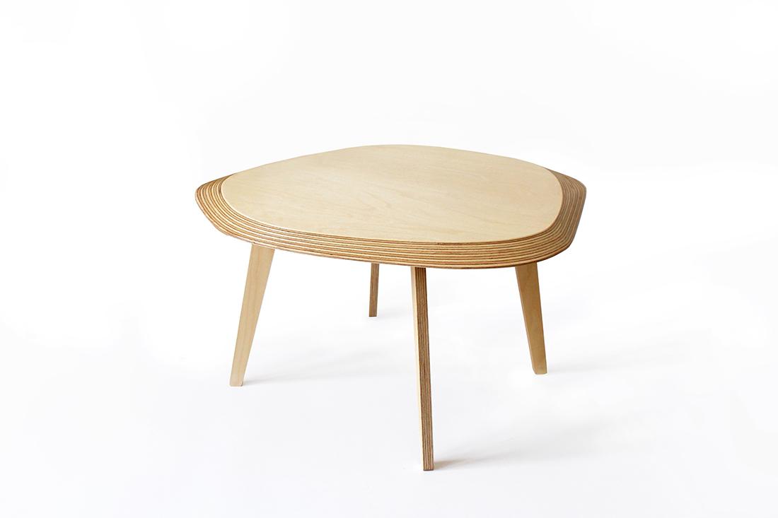 Table basse archipel, réalisé par le designer lillois Jean-Baptiste Ricatte