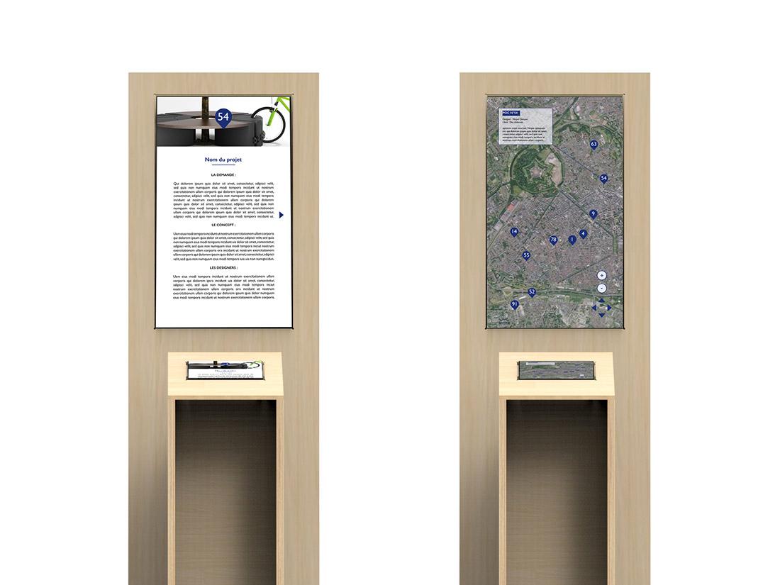 signalétique umérique Lille world design capitale