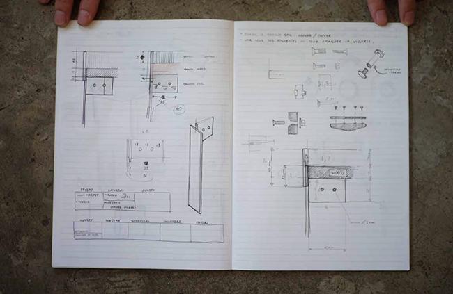 Croquis technique design