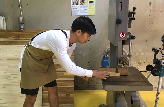 wood workshop bangkok