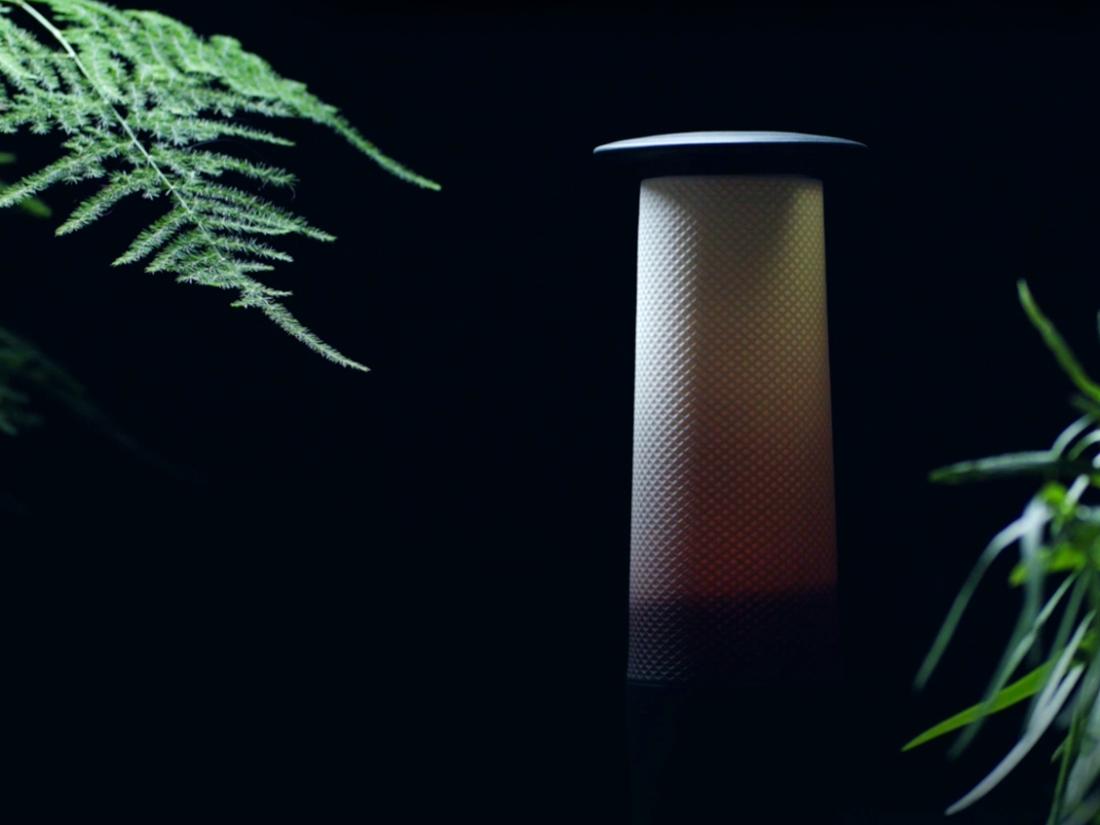 lampe de mineur en porcelaine de limoges - Autour du louvre lens